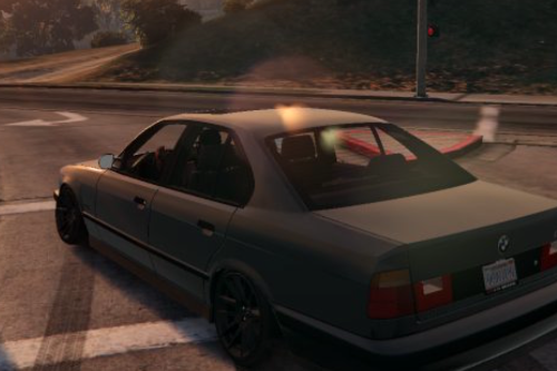 BMW M5 E34 Handling (mouse steering) 1.0