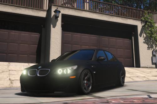 Handling for Predator7's BMW M5 E60