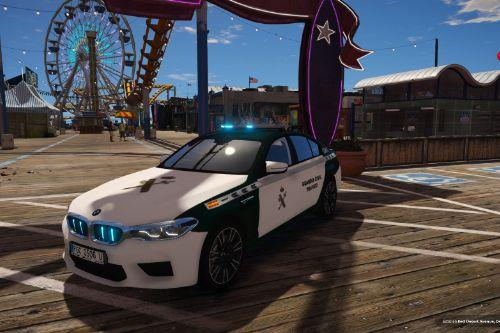 BMW M5 Guardia Civil Tráfico of Spain/España[FiveM-Replace-ELS]
