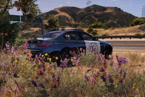 BMW M5 Highway Patrol [Paintjob]