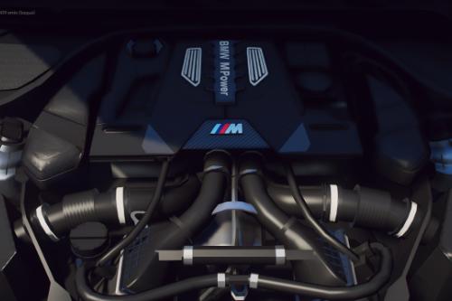 BMW M5/M8 S63 V8 Engine Sound [OIV Add-On / FiveM]