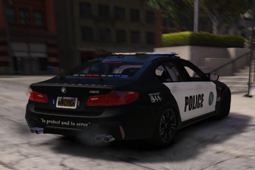 BMW M5 Police [Paintjob]