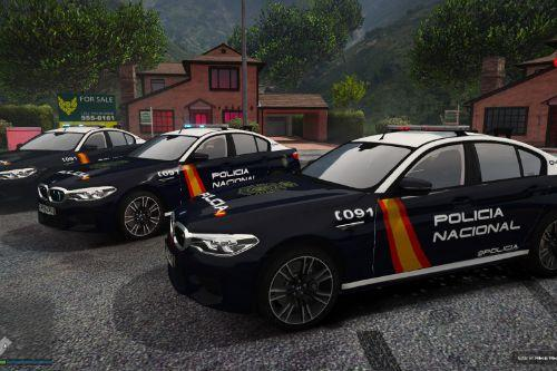 BMW M5 Policia Nacional/CNP of Spain/España[FiveM-Replace-ELS]