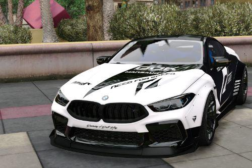 [BMW M8 Competition MANSAUG]Need For Speed livery
