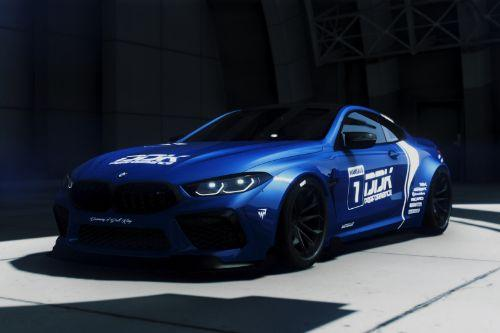 BMW M8 Competition MANSAUG [Replace / Add-On | Template | Digital Dials]