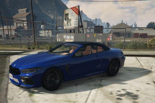 BMW M8 Convertible  2020 [Add-On]