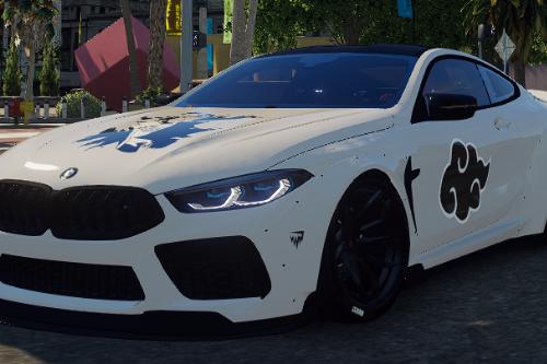 BMW M8 Mansaug | Akatsuki Livery
