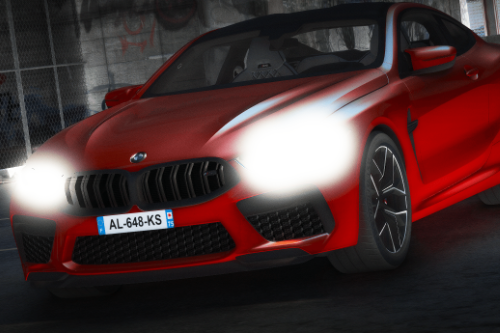 BMW M8 [Replace / FiveM | Unlocked]