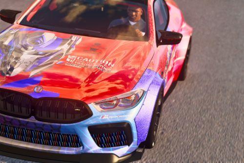 BMW M8 Transformers Edition - Livery