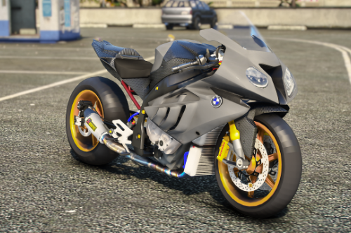 BMW S1000RR Drag [Add-On / FiveM / Livery / Template]
