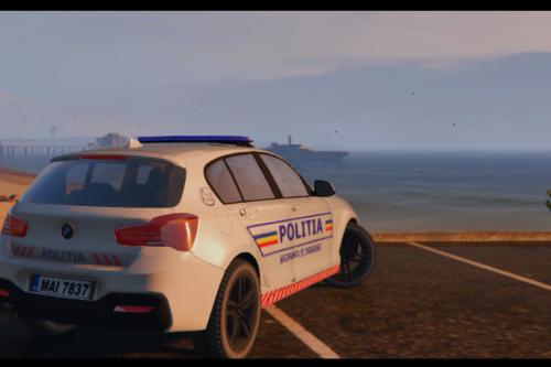 Bmw Seria 1 Politia Romana