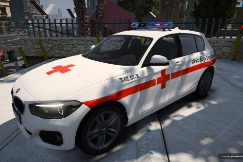 BMW Serie 1 F20 Cruz Roja Española of Spain/España[FiveM-Replace]