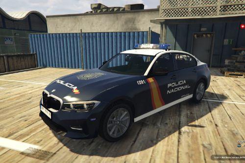 BMW Serie 3 G20 Policia Nacional/CNP of Spain/España.