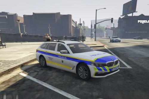 BMW Series 5 | Slovenska Policija Skin (Slovenian Police skin)