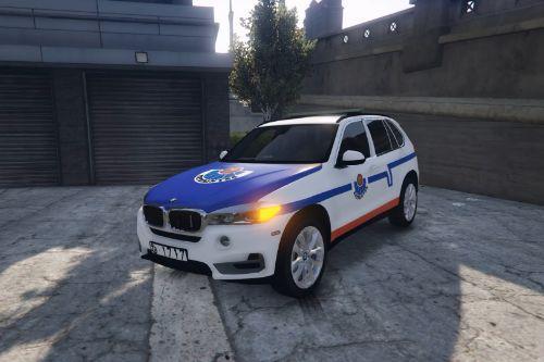 BMW X5 2015 Ertzaintza (Basque Country police, Spain; Policía Pais Vasco)