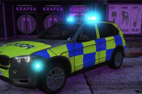 BMW X5 ARV Police Skin