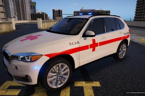 BMW X5 Cruz Roja Española of Spain/España[FiveM-Replace]