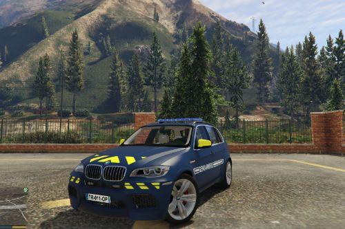BMW X5 French Gendarmerie [ELS | Template]