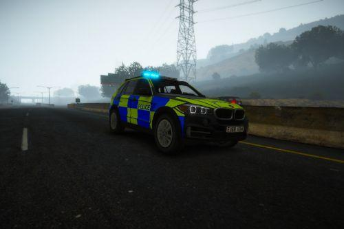BMW X5 Generic Traffic ANPR Interceptor [Addon | ELS]