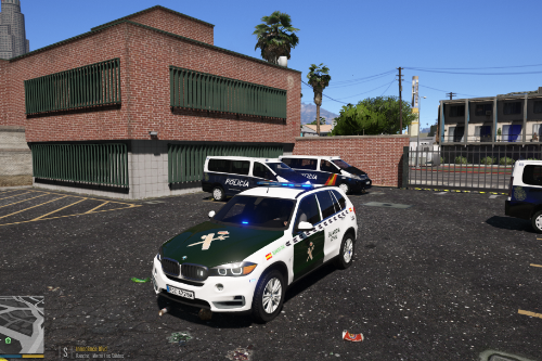 BMW X5 Guardia Civil [ELS]