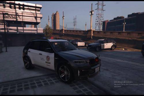 BMW X5 LAPD Code 3 Defender (4k skin)