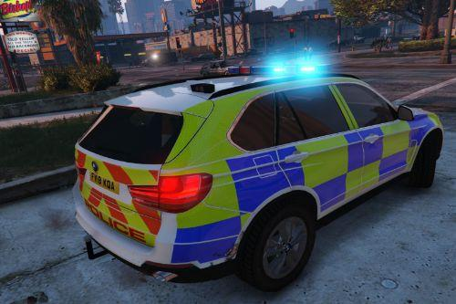 BMW X5 Marked Generic Police Car