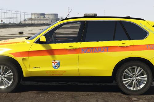 BMW X5 Notarzt Bundeswehr Koblenz [ELS]