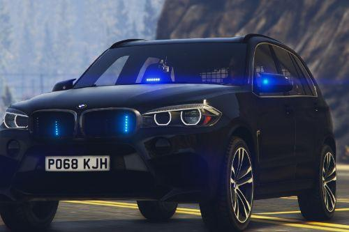 BMW X5M Unmarked ARV [Replace / ELS]