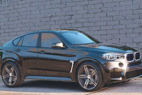 BMW X6M F16 [Add-On / Replace | Animated]