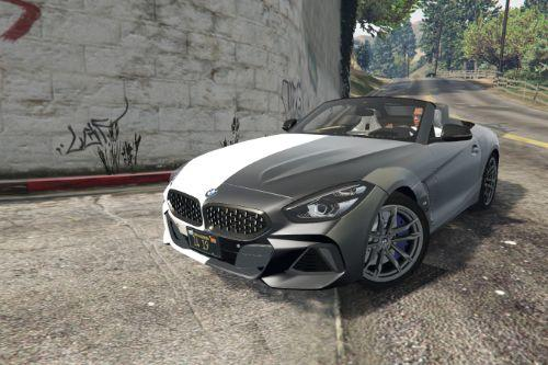 BMW Z4 M40i Twoface Black/White Paintjob