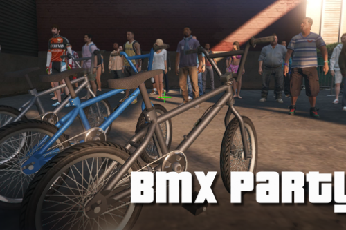 BMX Party in Los Santos - [Menyoo]