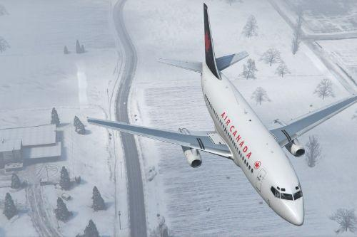 Db1e1a gta v   air canada 737 200 over north yankton