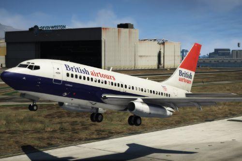 Boeing 737-200 British Airtours (Negus) Livery