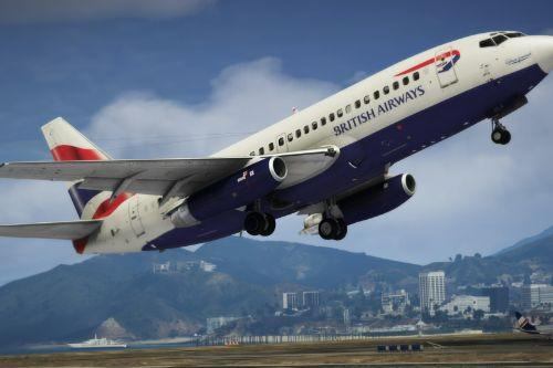 Boeing 737-200 Comair Livery
