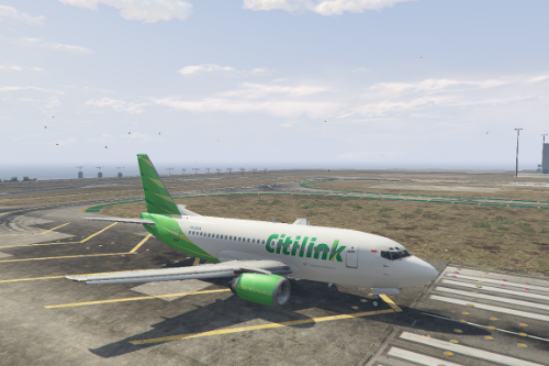 Boeing 737-500 Citilink Livery