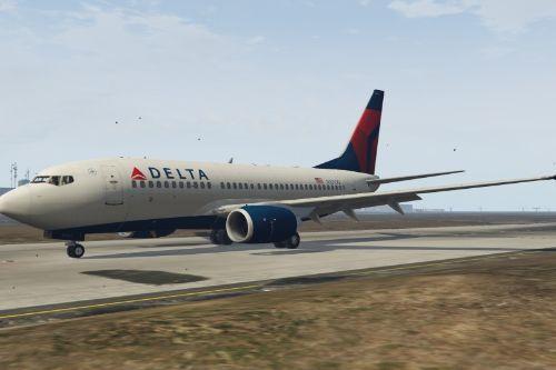 Boeing 737-700 Delta Livery