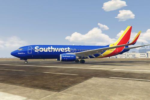 Boeing 737-800 Southwest Livery