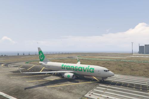 Boeing 737-800 Transavia Livery