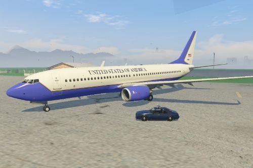 Boeing 737-800 USAF