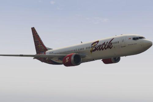 boeing 737 MAX 9 BATIK AIR