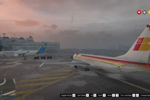 Boeing 737-MAX9 Iberia and Ukraine International Airlines [Add-On/Replace]