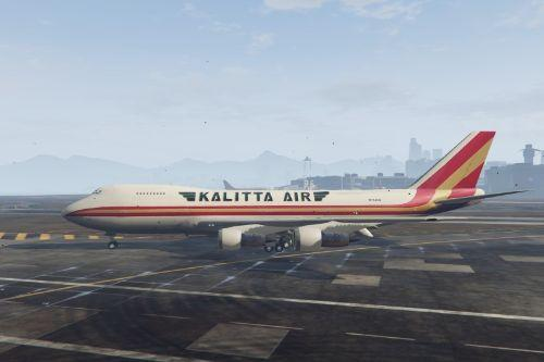 Boeing 747-200 Freighter Kalitta Air Livery