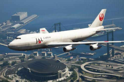 Boeing 747-200F Japan Airlines Cargo