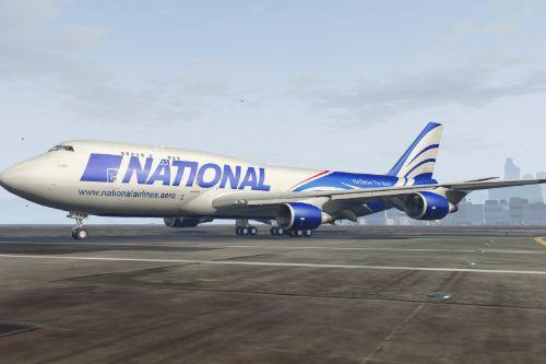 Boeing 747-300M CARGO Livery Pack