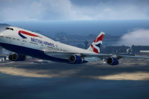 Boeing 747-400 British Airways Pack
