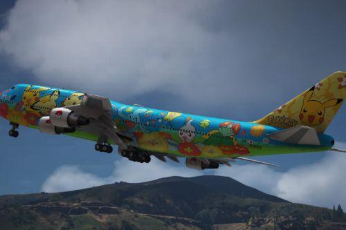 Boeing 747-400 Japan Pack