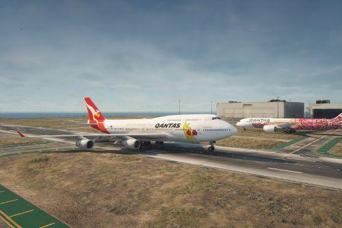 Boeing 747-400 Rolls Royce Pack