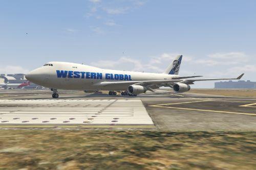 Boeing 747-400F Atlas Air Livery