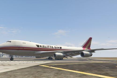 Boeing 747-400F Kalitta Air Livery