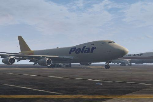 Boeing 747-400F Polar Livery